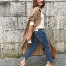 Cada vez que se pone de moda un nuevo tipo de vaquero nos surge la misma duda: ¿con qué zapatos quedan bien? Nosotras, que tenemos mil ojo