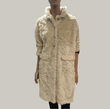 abrigo de piel falso bellerose