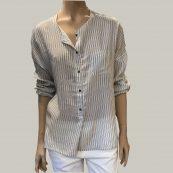 camisa blanca rayasAtelier Francais Confection
