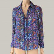 camisa estampado floral bash