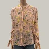 camisa estampado rosa berenice