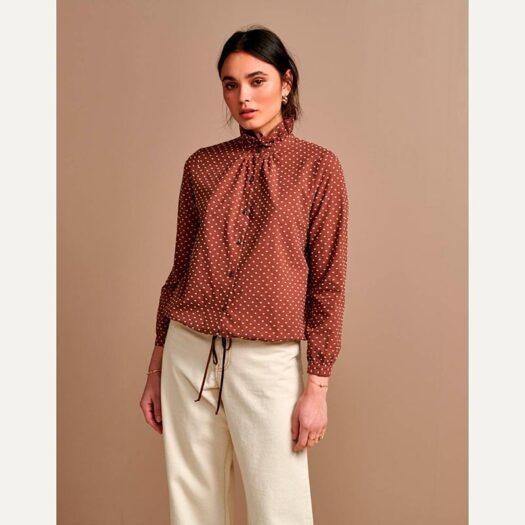 camisa safrano bellerose 1