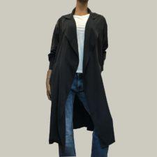 chaqueta estilo guardapolvo american vintage
