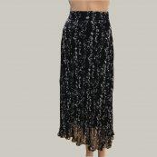 falda midi floral bash