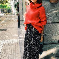 falda plisada bash