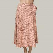 falda rosa cruzada bellerose