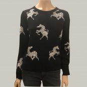 jersey negro cebra essentiel