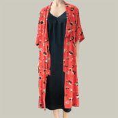 kimono estampado bellerose