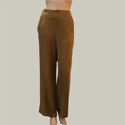pantalon-fluido-mosstaza rabens