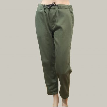 pantalon verde militar bellerose