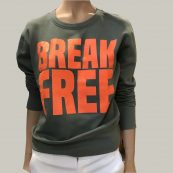 sudadera BREAK FREE ESENTIEL