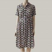 vestido estmpado de los 90 bellerose