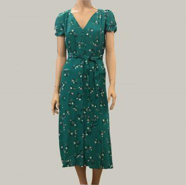vestido largo estampado 1