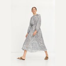 vestido-largo-estampado-flloral samsoe