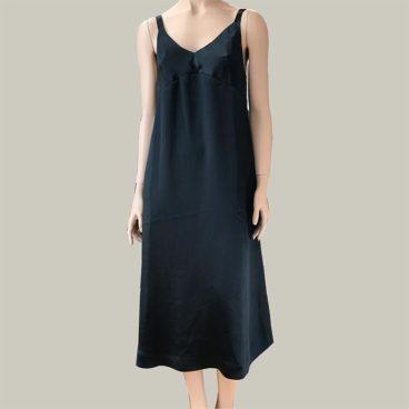 vestido-satinado bellerose
