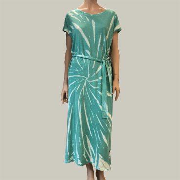 vestido-tie-dye verde berenice